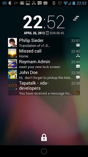 NiLS Notifications Lock Screen - Imagem 1 do software
