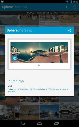SphereShare.net - Imagem 2 do software