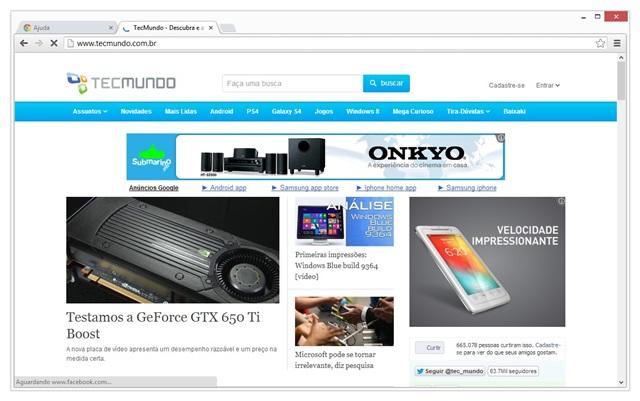 Google Chrome Beta Download para Windows em Português Grátis