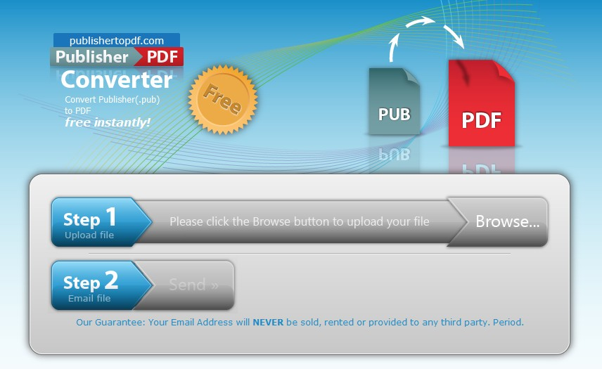 Pdf to convert publisher