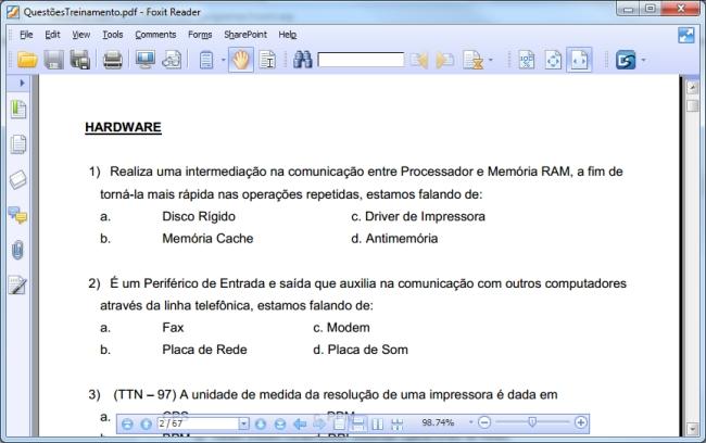 Curso Informática - Imagem 1 do software