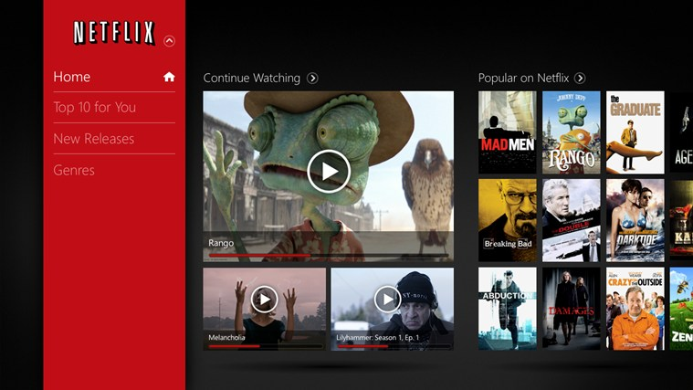 how to play netflix via bluetooth in windows 10