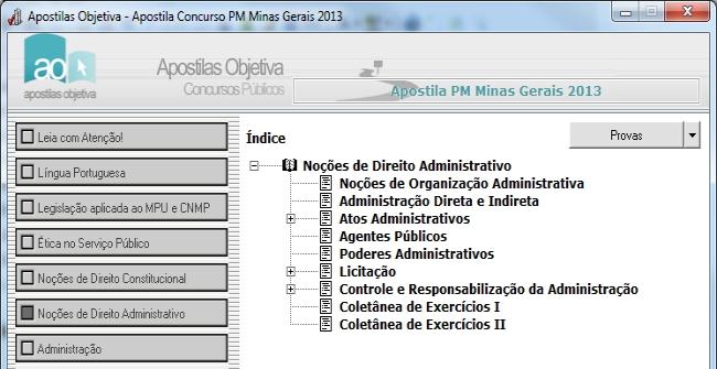 Apostila do Concurso MPU 2013 - Imagem 2 do software