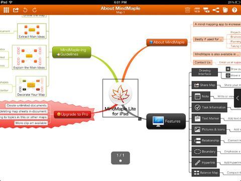 MindMaple Lite - Imagem 1 do software