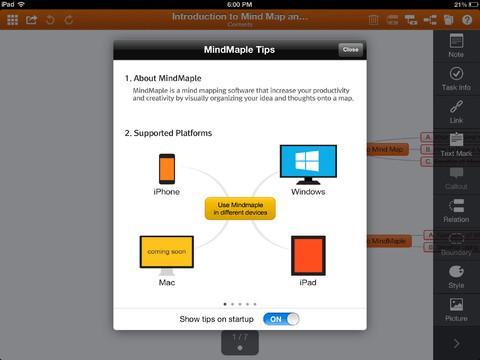 MindMaple Lite - Imagem 2 do software