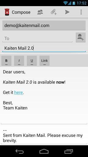 Kaiten Mail - Imagem 2 do software