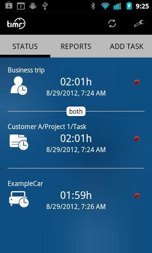 Timr - Registro de horas - Imagem 1 do software
