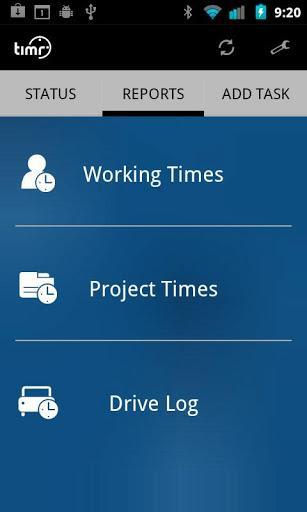 Timr - Registro de horas - Imagem 2 do software
