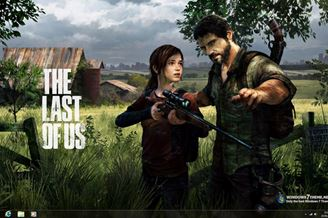 The Last of Us Windows 7 Theme Download to Windows Grátis