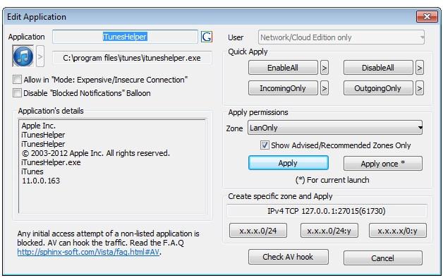 Windows7FirewallControl Plus - Imagem 1 do software