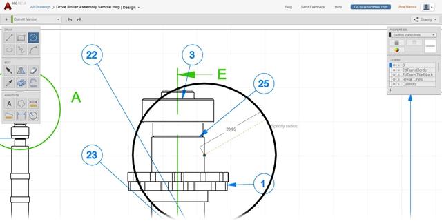 Autodesk AutoCAD 360 - Imagem 1 do software