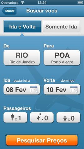 Mundi - compare voos e hoteis - Imagem 1 do software