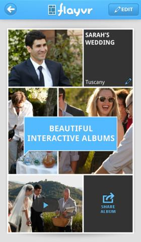 flayvr - beautiful photo and video albums - Imagem 2 do software