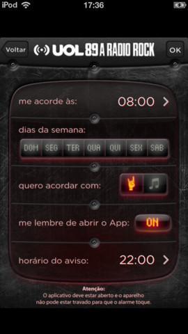 Rock Snooze - Imagem 1 do software