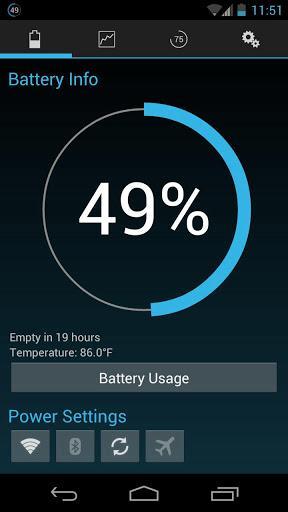 Battery Widget Reborn - Imagem 1 do software