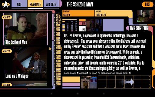 Trek Episode Guide - Imagem 1 do software