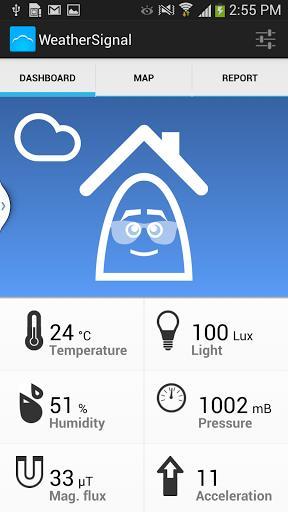WeatherSignal - Imagem 1 do software