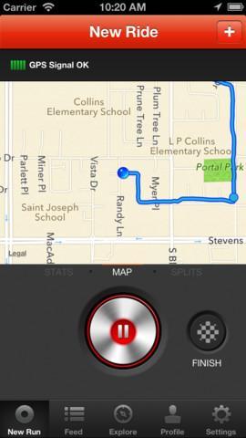 Strava Cycling - Imagem 1 do software