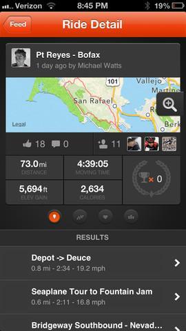 Strava Cycling - Imagem 2 do software