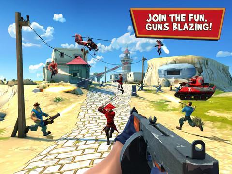 Blitz Brigade - Online multiplayer shooting action! - Imagem 1 do software