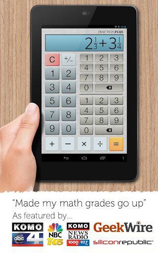 Fraction Calculator Plus Free - Imagem 1 do software
