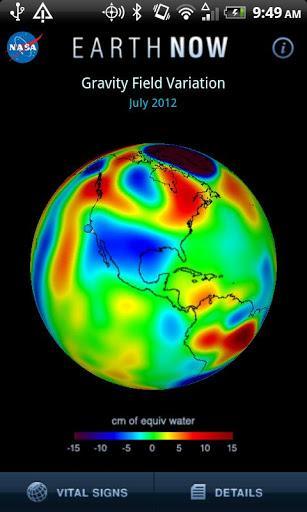 Earth-Now - Imagem 2 do software