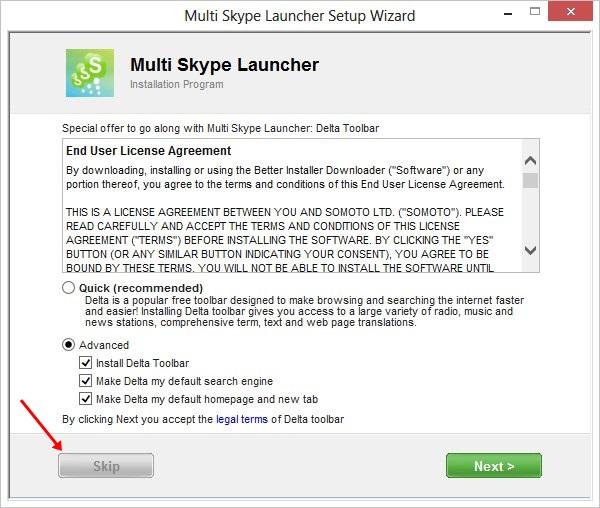 MultiSkype Launcher
