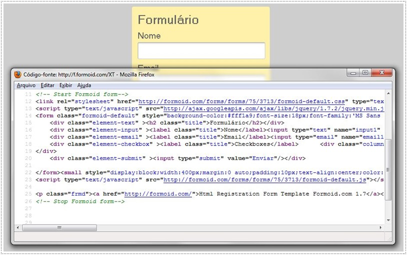 Formoid - Imagem 3 do software