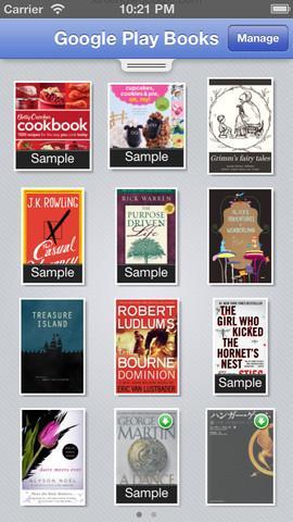 Google Play Books - Imagem 1 do software