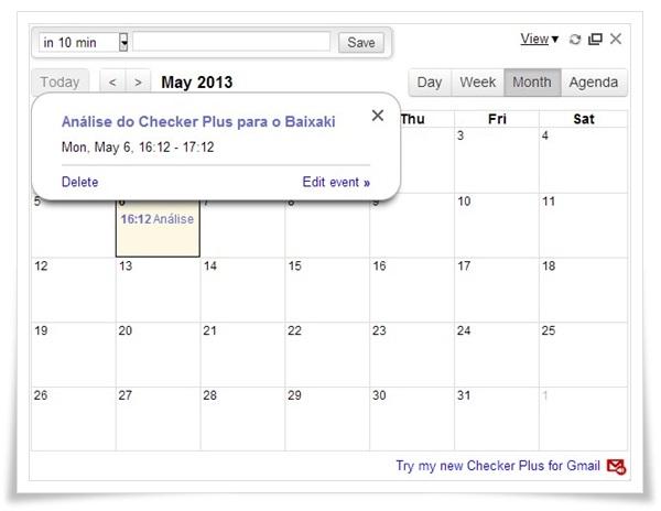 Checker Plus for Google Calendar - Imagem 1 do software