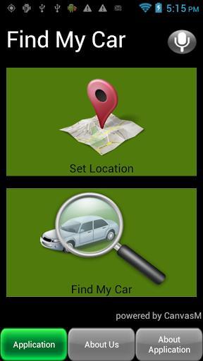 Find My Car - Imagem 2 do software