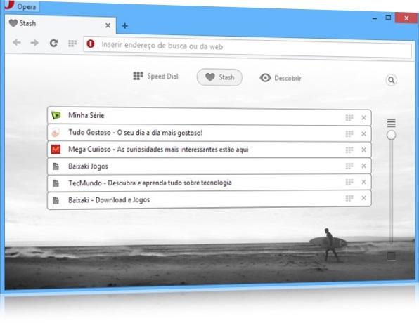 Opera Next - Imagem 4 do software