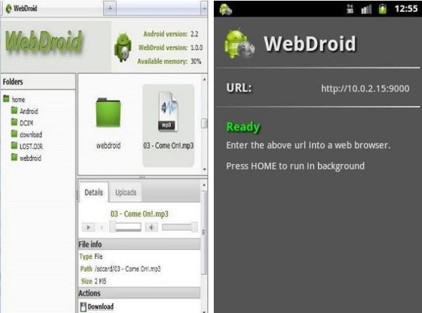 O WebDroid
