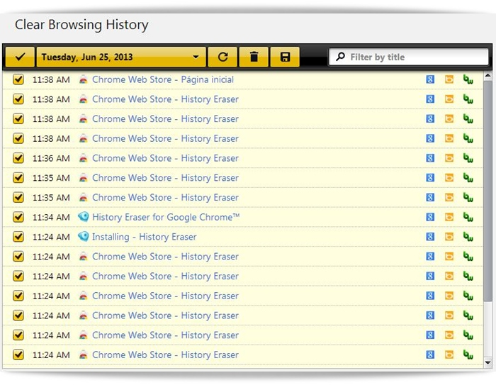 how to erase download history