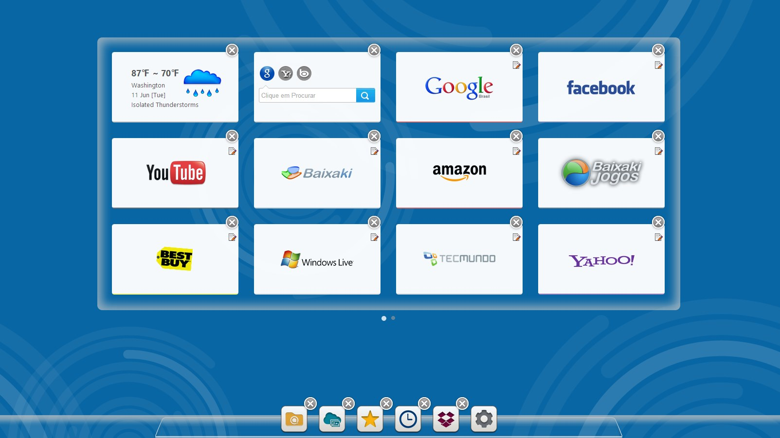 X New Tab Page - Imagem 1 do software