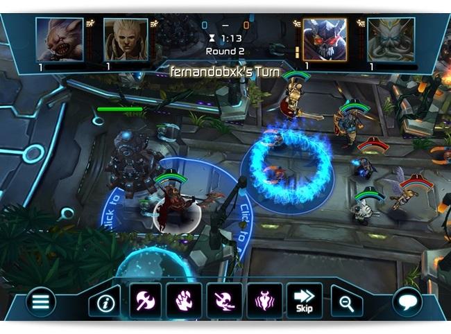 Arena of Heroes Beta.