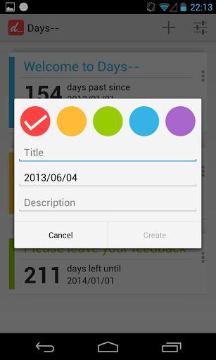 Days-- - Imagem 2 do software