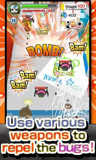 Bugs Army! [Free Shooter Game] - Imagem 2 do software