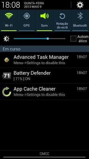 Battery Defender - Imagem 2 do software
