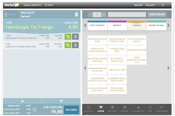 MarketUP - Imagem 1 do software