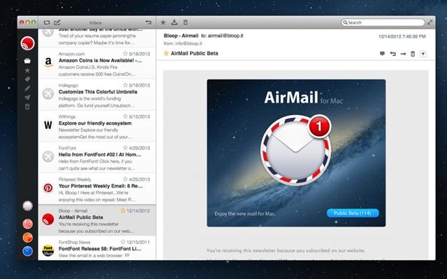 Airmaila - Imagem 1 do software