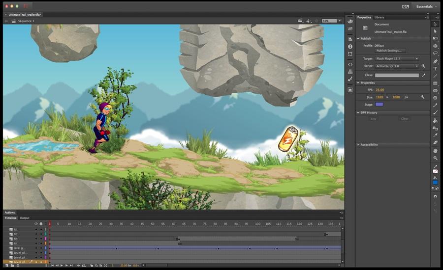 Adobe Flash Professional - Imagem 8 do software
