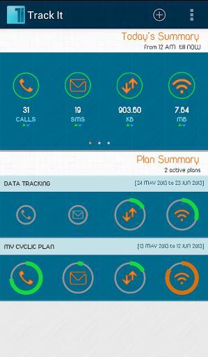 Track It-Call,SMS,Data Monitor - Imagem 1 do software