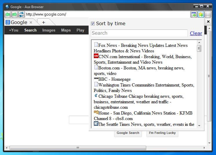 Aux Browser - Imagem 1 do software