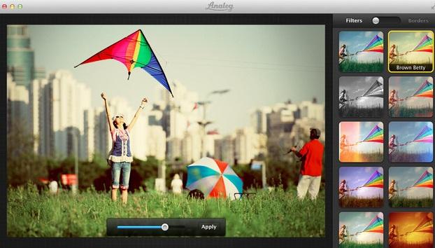 Aplique filtros e efeitos. Reprodução/MacApp Store