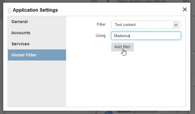 TweetDeck Web - Imagem 3 do software