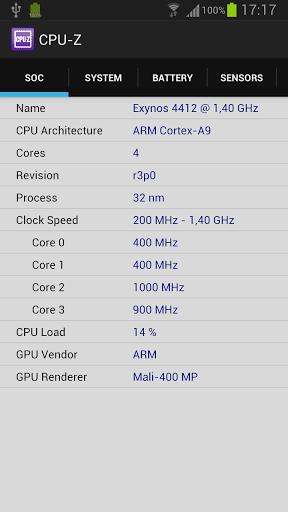 CPU-Z - Imagem 1 do software
