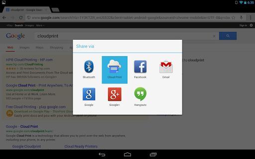Google Cloud Print - Imagem 1 do software