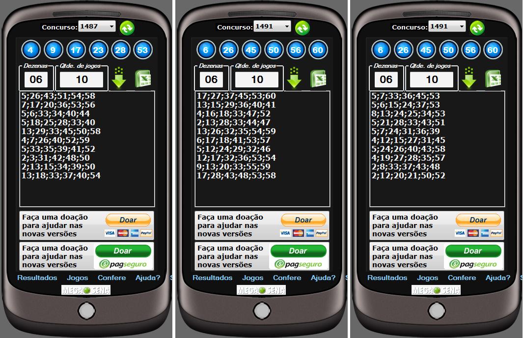 SuperMegaSena - Imagem 1 do software