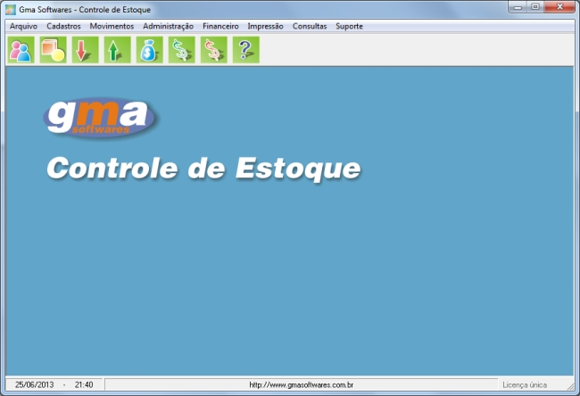 Controle de Estoque - Imagem 1 do software